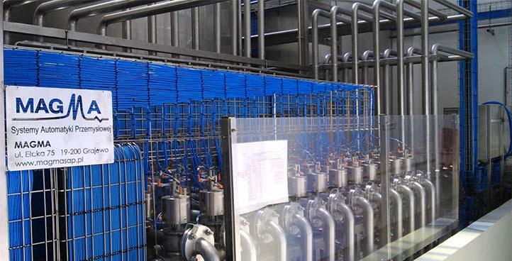 Inline vodka production